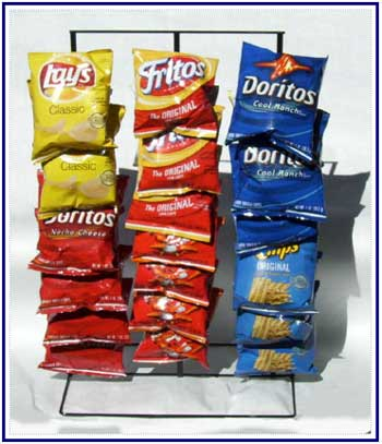Counter Chip Display Racks
